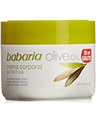 Babaria – Crème pour le corps Olive Oil – 250 ml