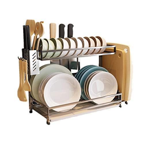 Porta spezie tipo di pavimento multi-funzione del pavimento del coltello della gabbia del piatto delle gabbie dell'acciaio inossidabile 304 dello scaffale della cucina