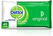 Dettol Original Antibacterial Skin and Surface Wipes 40 Count