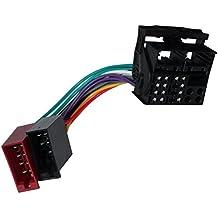 AERZETIX: Adaptador cable enchufe ISO para autoradio de coche vehiculos