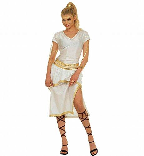 Widmann 37282 - Erwachsenenkostüm Athena - Kleid, Gürtel und Bänder, Größe M, (Athena Amazon Kostüm)