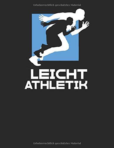 Mein Lauftagebuch: Trainingstagebuch für Läufer und Jogger ♦ Lauflogbuch für über 200 Einträge ♦ A4+ Format ♦ Motiv: Leichtathletik