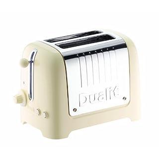 Dualit 26202 2-Slot Lite Toaster, 1.1 kW - Cream