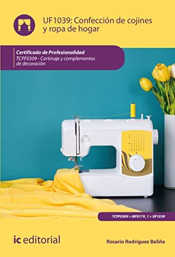 Confección de cojines y ropa de hogar. TCPF0309 eBook: Rosario ...