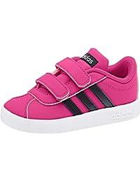 low priced 1bbac f8af6 Adidas VL Court 2.0 Cmf, Scarpe da Tennis Unisex-Bambini, Blu Reamag