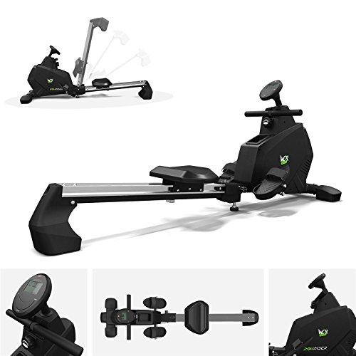 41IdfZGEBqL. SS500  - We R Sports Rowing Machine Body Toner Home Rower Fitness Cardio Workout RowRider