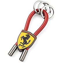 Llavero Scuderia Ferrari Oficial Scudetto Aros Rojo