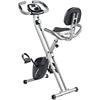 Gold Coast Foldable Exercise Bike With Pulse Reader