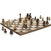 Umbra 377601–656Wobble Chess Set Walnut