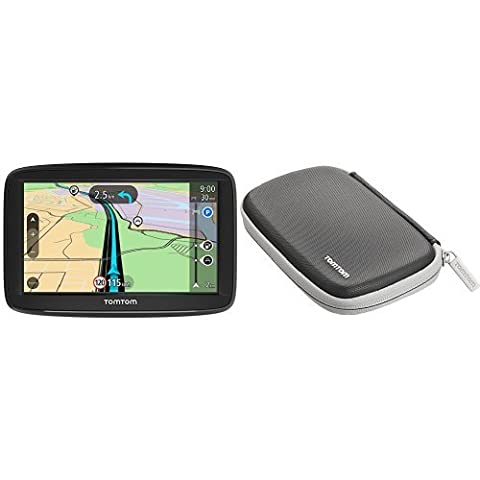 TomTom Start 52 Navigationsgerät (13 cm (5 Zoll) Display, Lifetime Maps, Fahrspurassistent, Karten von 48 Ländern Europas, inkl. Schützhülle) (Navigationsgerät Kaufen)