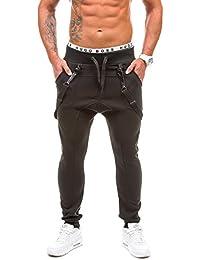 BOLF Hombre Muy Cómodo Bolsillos Gym Pantalones Deportivos Pantalones Tiempo Libre BBG 1106
