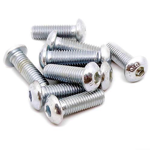 2 x 12 mm-acier galvanis/é-lot de 100 en acier Dresselhaus-vis /à bois-m/èche /à t/ête fendue