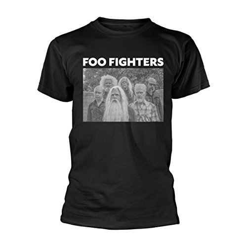 Foo fighters t-shirt old band da uomo in nero