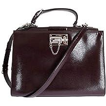0c465707e32d Dolce   Gabbana - Damen Tasche - Bordeaux MONICA Leather Hand Shoulder  Satchel Bag