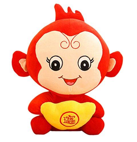 (Unternehmen Jahrestagung Geschenk Stofftier-Maskottchen Puppen, Barren Affe,30cm)