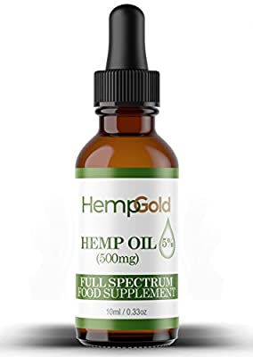 HEMP OIL | HEMP OIL DROPS | 10 ml | 100% NATURAL | VEGAN | GLUTEN FREE | NO ADDITIVES | from HempTouch