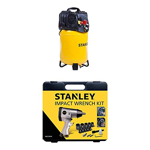 STANLEY Compressor D200/10/24V + Impact Wrench Kit