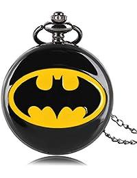 d80da4888ea2 Reloj de Bolsillo de Cuarzo con diseño de Batman