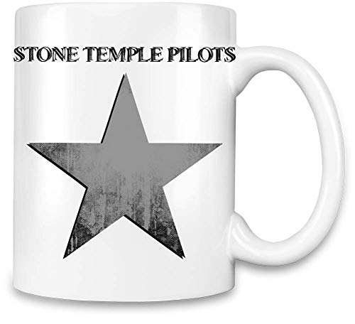 Stone Temple Pilots Stein Tempel Pilots Grunge Star Logo Grunge Star Logo Unique Coffee Mug | 11Oz Ceramic Cup| The Best Way to Surprise Everyone On Your Special Day| Custom Mugs by