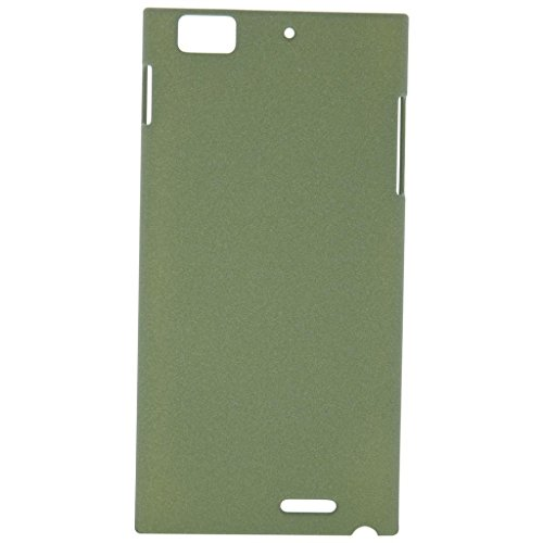 Heartly QuickSand Matte Finish Hybrid Flip Thin Hard Bumper Back Case Cover For Lenovo K900 - Nature Green  available at amazon for Rs.219