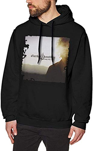 HTHYTJC LilianR Dierks Bentley Long Trip Alone Men's Hoodies Hoodie Black S