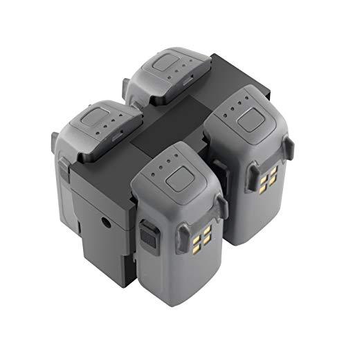 Caricabatterie per DJI Spark Caricabatterie da viaggio a ricarica rapida Multi Battery 4 Porte (Colore: nero)