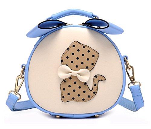 Schultertaschen Beuteltaschen Pu Handtaschen Trend Bags Wildleder Beutel Veloursleder neuer Hellblau Hobo Velours Stil Keshi Tasche Bags Damen 0zw4xqqH