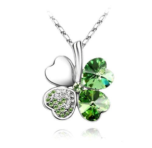 pinkc-cristal-collier-trefle-a-quatre-feuilles-porte-bonheur-cristal-et-chaine-en-plaque-or-blanc-18