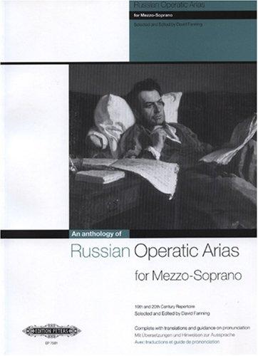 Preisvergleich Produktbild An Anthology of Russian Operatic Arias for Mezzo Soprano. Gesang Mittel, Mezzosopran, Klavier