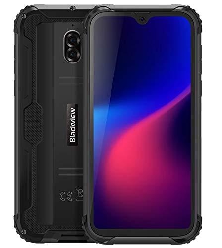Blackview BV5900 Rugged Smartphone (2019), La'Capsula Spaziale' Design, Cellulare HD + Android 9.0 da 5,7 Pollici, IP68 Impermeabile, Modalità Fotocamera Subacquea, 3GB + 32GB, NFC, 5580mAh Nero