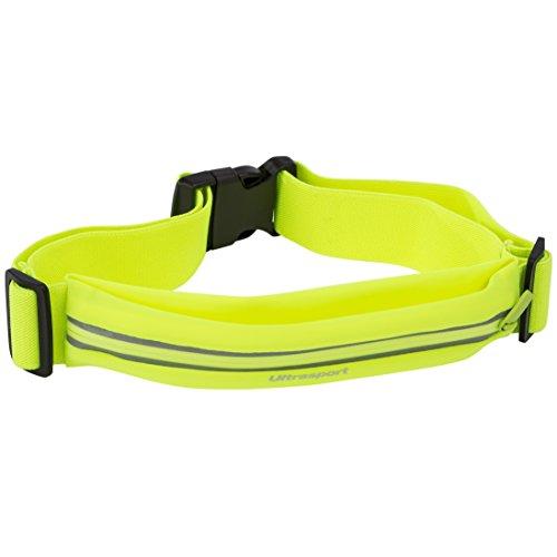 Riñonera amarilla para runners - Deporte Unisex