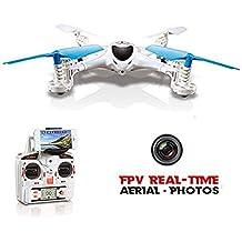 GizmoVine MJX X300C Drone con Telecamera 0.3MP FPV WIFI 6-Assi GYRO Quadricottero 2.4G 4 Canali X-SERIES RTF Elicottero Quadricottero con Modalità Headless Ritorno Automatico Un Tasto Funzione 3D Roll FPV Tempo Reale Drone per IOS e Android Colore Bianco