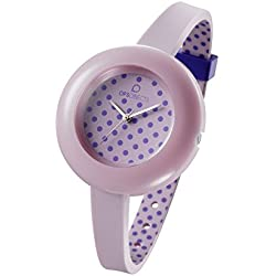 OPSOBJECTS · OPS!POIS WATCHES · Armbanduhr | Uhrarmband | Uhrband · rosa pink flieder silber
