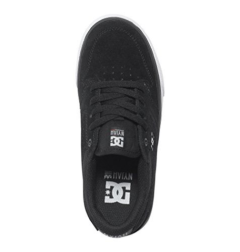 DC Shoes - Nyjah Vulc, Scarpe per bambini e ragazzi Nero (Black/White)