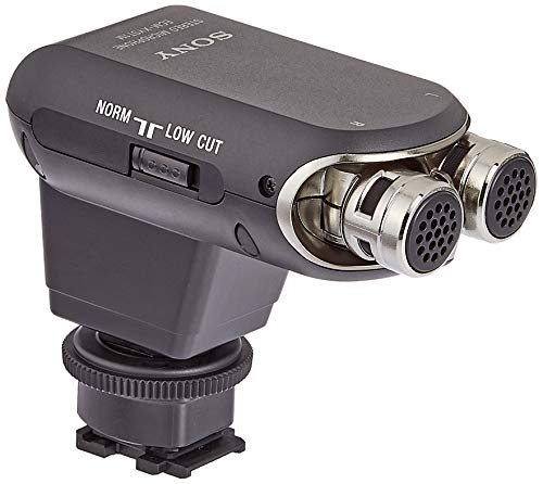 Sony ECMXYST1M Stereo-Mikrofon (schwarz) (Sony Video Camera Handycam)
