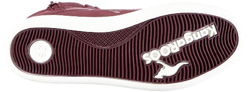 KangaROOS Adrienne 1181A Unisex-Kinder Sneaker Rot (berry/white)