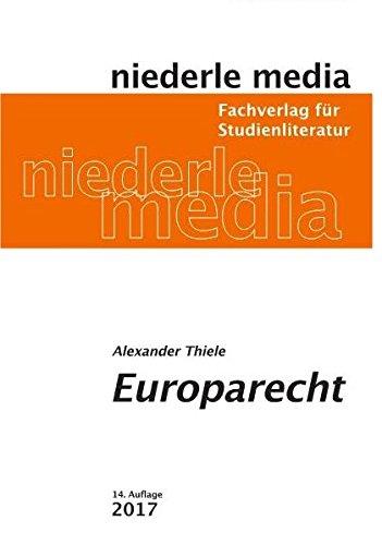 Europarecht: Studienbuch