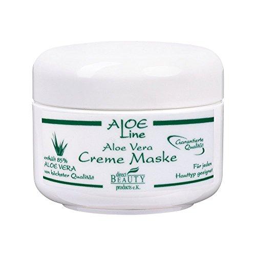 Aloe Vera Gesichtsmaske / Creme Maske 50ml enthält 85% Aloe Vera, Glycerin, Jojobaöl, Panthenol,...