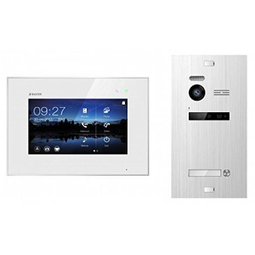 BALTER EVO Video-Türsprechanlage ✓ Touchscreen 7 Zoll Monitor ✓ 2-Draht BUS ✓ Türstation für 1 Familienhaus ✓ 150° Weitwinkel-Kamera