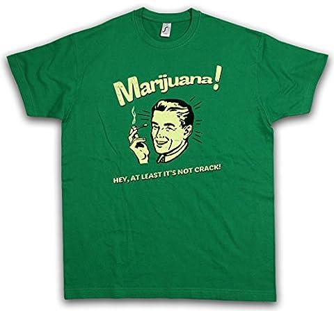 """MARIJUANA """"J"""" T-SHIRT – Fun Cannabis Leaf Smoke Smoking Weed Pot Shit Kush Tailles S – 3XL"""