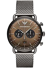 7cf9f56d62f Emporio Armani Aviator Analog Multi-Colour Dial Men s Watch - AR11141