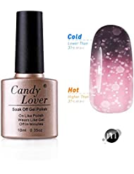 Candy Lover 10mL Soak Off LED Gel Nagellack Thermo Color Changing Gel Chameleon Shellac Polish Nagellack Farbe #111