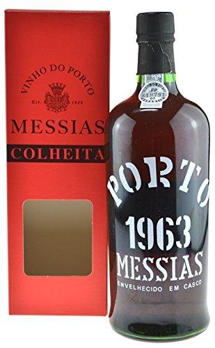 Rarität: Port Messias Colheita 0.75l Jahrgang 1963 mit Geschenkpackung - Portwein