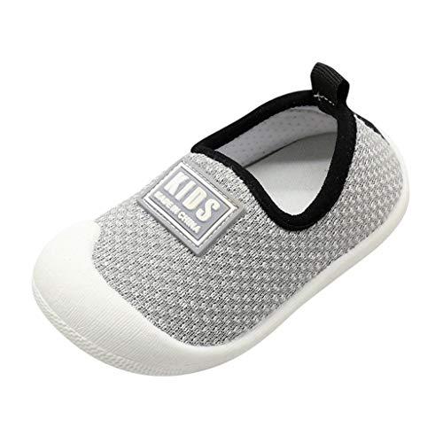 Sanahy Lauflernschuhe Babyschuhe 1-4 Jahre Kinder Schuhe Kleinkind Jungen Mädchen Weiche Sohle rutschfeste Baumwolle Segeltuch Mesh Atmungsaktiv Slip-on Turnschuhe Draussen