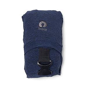41IdznLS81L. SS300  - Boppy ComfyFit Mochila portabebé para un porteo natural, color azul