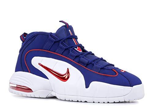 Nike Herren Air Max Penny Fitnessschuhe, Mehrfarbig (Deep Royal Blue/Gym Red/White 400), 44 EU -