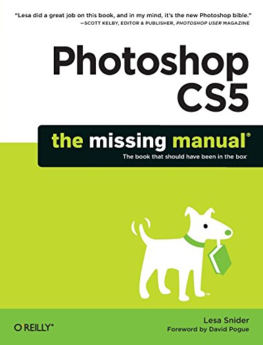 Photoshop CS5: The Missing Manual (Missing Manuals) by Lesa Snider (4-Jun-2010) Paperback