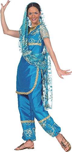 Damen Kostüm Bollywood Tänzerin Inderin zu Karneval Fasching (Erwachsene Tänzerin Halloween Kostüme Für)