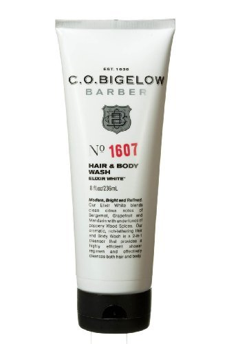 C.O. Bigelow Barber Barber Hair and Body Wash Elixer White #1607