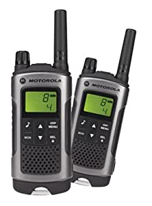 Motorola Talker T80 2 Way Walkie Talkie Radio - Black (Pack of 2)